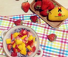 水果粥(养肝补气)的做法