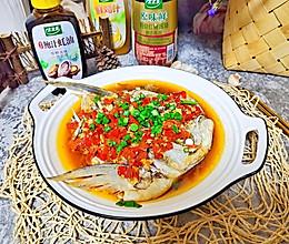 #百变鲜锋料理#剁椒鱼头的做法