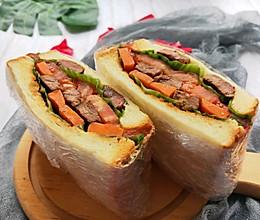 开启美好一天的牛排三明治的做法