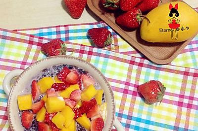 水果粥(养肝补气)