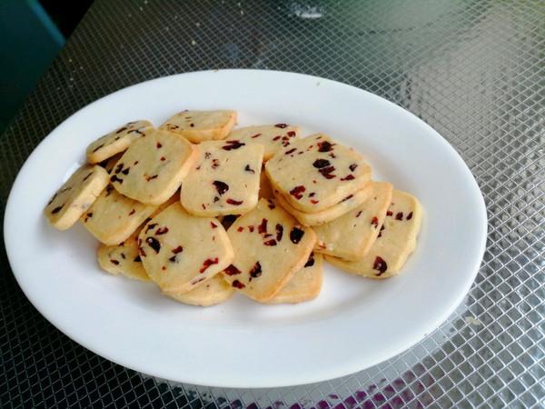 酥到心颤的蔓越莓曲奇饼干的做法