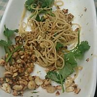 橄露Gallo经典特级初榨橄榄油试用之凉拌龙须面的做法图解5