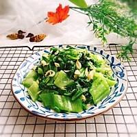 #精品菜谱挑战赛#盖菜炒虾米+春天的味道的做法图解9