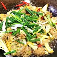 干锅花菜,好吃到舔盘!的做法图解11