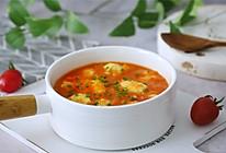 #春季减肥,边吃边瘦#番茄鸡肉丸的做法