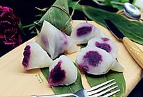 紫薯水晶粽的做法