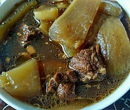 高压锅白萝卜炖牛腩的做法
