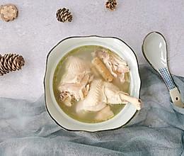 三宝鸡汤#橄榄中国味 感恩添美味#的做法
