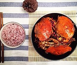 「迟の味」秘制香辣蟹的做法