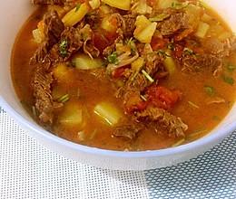 西红柿牛腩汤(孕妇食谱)的做法