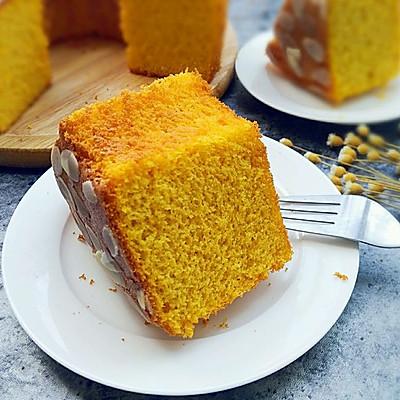 100%玉米面红薯南瓜蛋糕