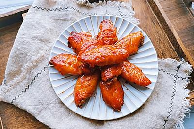 蒜香蜜汁烤鸡翅