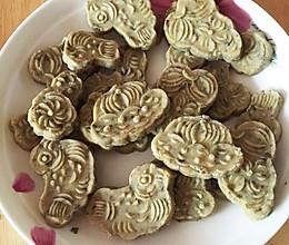 纯绿豆无面粉绿豆糕的做法