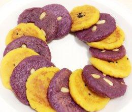 韩式地瓜饼/紫薯饼的做法