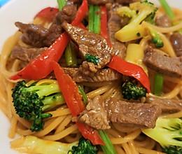 黑椒牛肉意面的做法