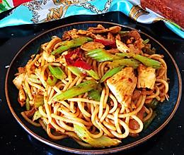 #营养小食光#新疆炒米粉#迪丽热巴的最爱的做法