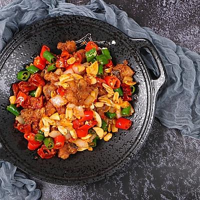 #《风味人间》美食复刻大挑战#这道辣子鸡我能连辣椒都吃光光