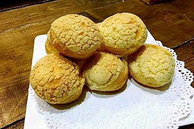 酥皮泡芙(香草奶油馅)