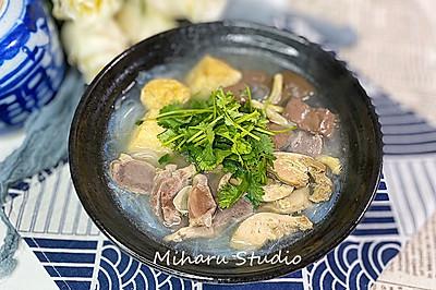鸭血粉丝汤❤️在家吃美味小吃❤️