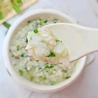 12M+香菇瘦肉二米粥:宝宝辅食营养食谱菜谱的做法图解10
