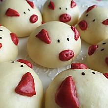 黑芝麻猪猪包