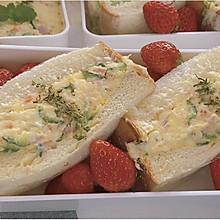 #321沙拉日#土豆沙拉三明治|超简单野餐食单
