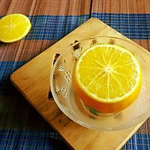 秋冬寒咳炖品之炖盐橙