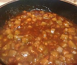 茄子卤面条,私房做法的做法