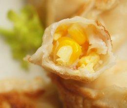 #一人一道拿手菜# #有颜值好味道的玉米鲜虾鸡蛋饺的做法