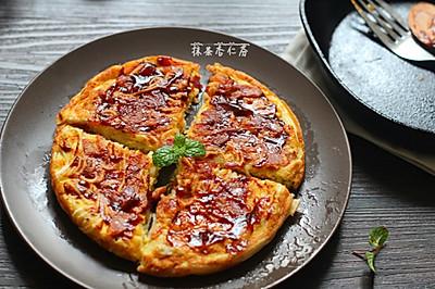 挂面的另类吃法~~挂面煎饼