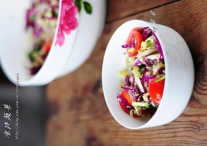 凉拌蔬菜的做法