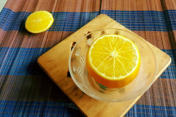 秋冬寒咳炖品之炖盐橙的做法