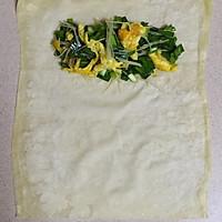 韭菜鸡蛋春卷—馄饨皮版的做法图解8