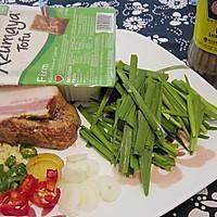 #下饭红烧菜#大马站虾酱红烧豆腐的做法图解1