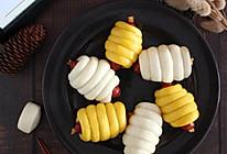 花式馒头【奶酪香肠馒头卷】的做法