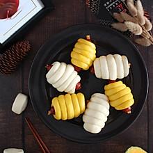 花式馒头【奶酪香肠馒头卷】