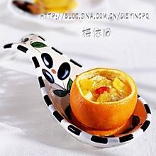 香橙牛奶蒸蛋