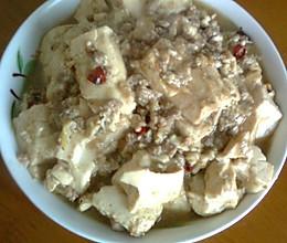肉末豆腐的做法