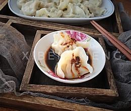#馅儿料美食,哪种最好吃#荸荠饺子(马蹄馅)的做法