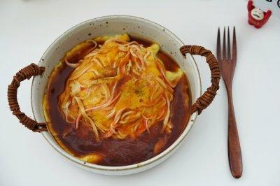日本人气料理-天津饭,低脂低卡鲜美无比
