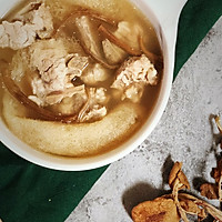 茶树菇竹笙排骨汤—夏日养生的做法图解15