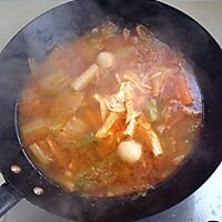 韩式泡菜火锅面的做法图解4