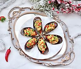 """#美食说出""""新年好""""#彩椒蒜香海虹的做法"""