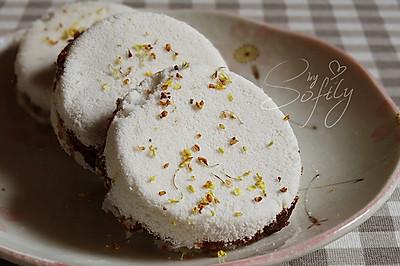 桂花红糖松糕-让人一口就爱上的米甜品