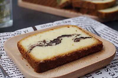 大理石蛋糕-爱上涂鸦的亲密感觉#自已做更健康#