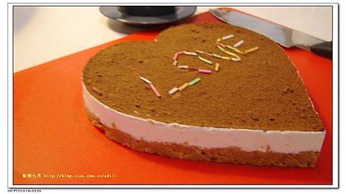自制芝士蛋糕(免烤 )的做法