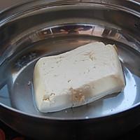 虾酿豆腐的做法图解2