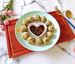 槐花团子#硬核家常菜#的做法