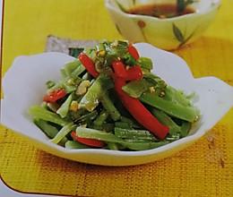 凉拌贡菜的做法