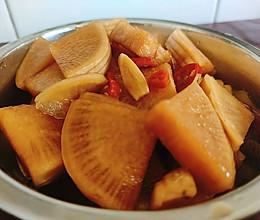 咸辣酸萝卜的做法
